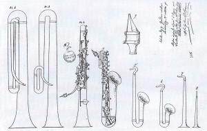 Skizze zum 1.Patentantrag (1846)